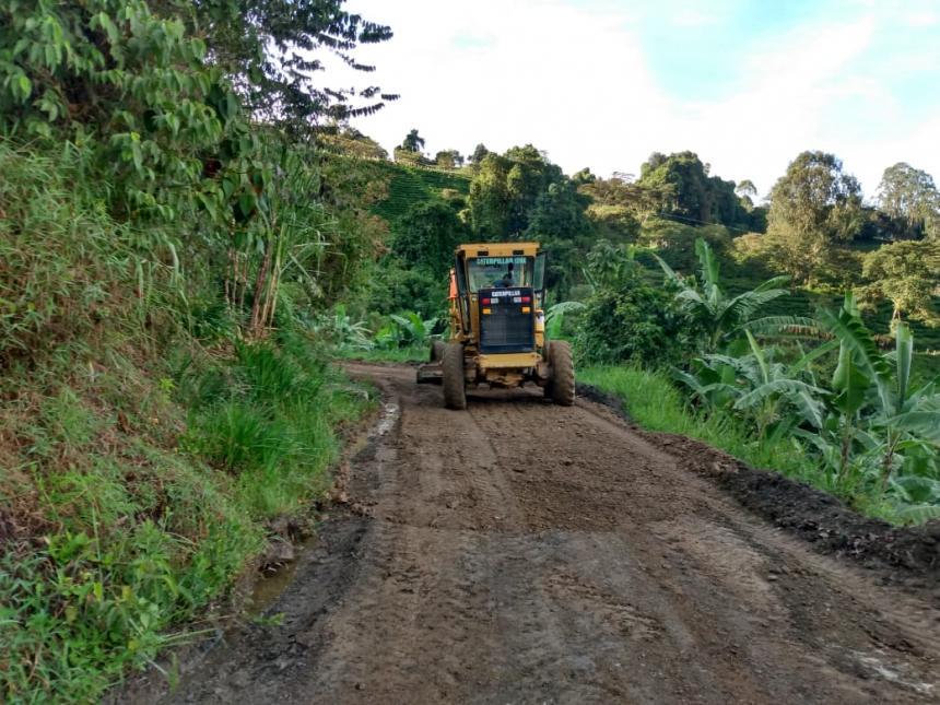 Administración Municipal continuará intervención sobre la vía Toche – Tapias