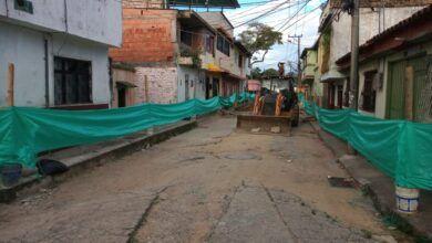 Inició pavimentación de 400 metros cuadrados de vía en el barrio Santander de Ibagué