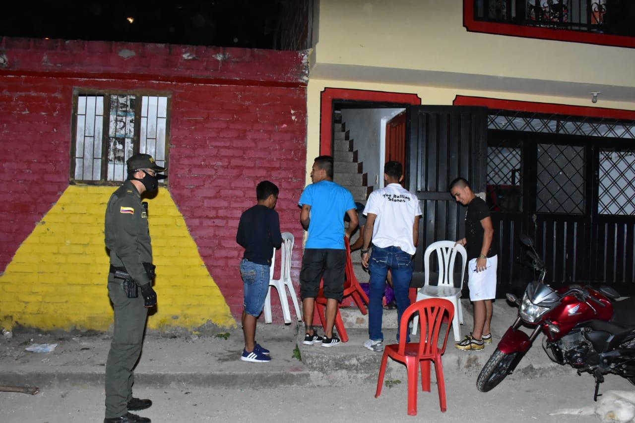 106 comparendos se impusieron durante los 'Operativos por la Vida' en las 13 comunas de Ibagué