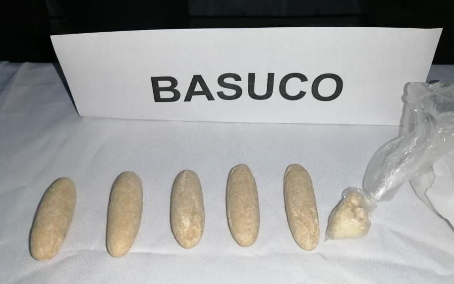 Taxista fue capturado en Vasconia Reservado por droga debajo de su asiento