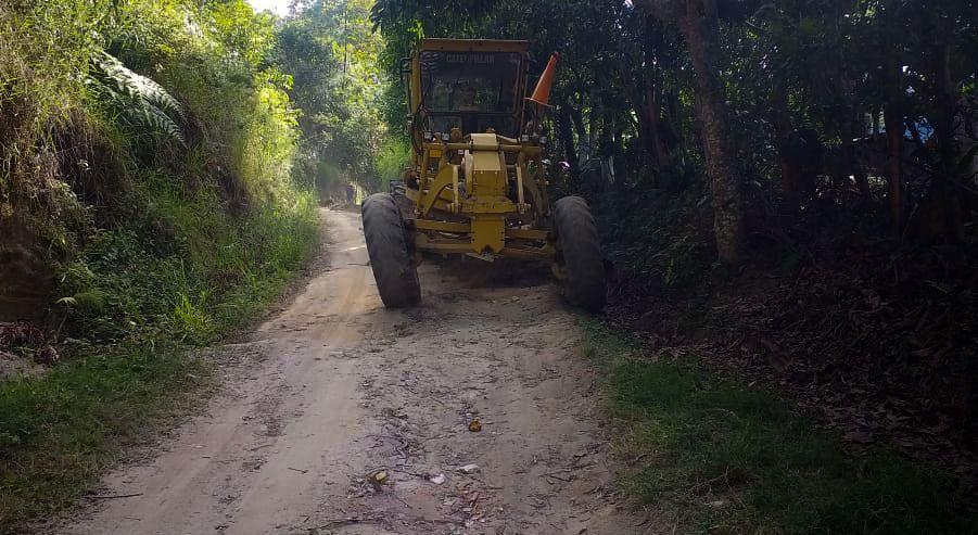 Corregimientos Cay y La Florida se benefician con mejoramiento de siete kilómetros de vía
