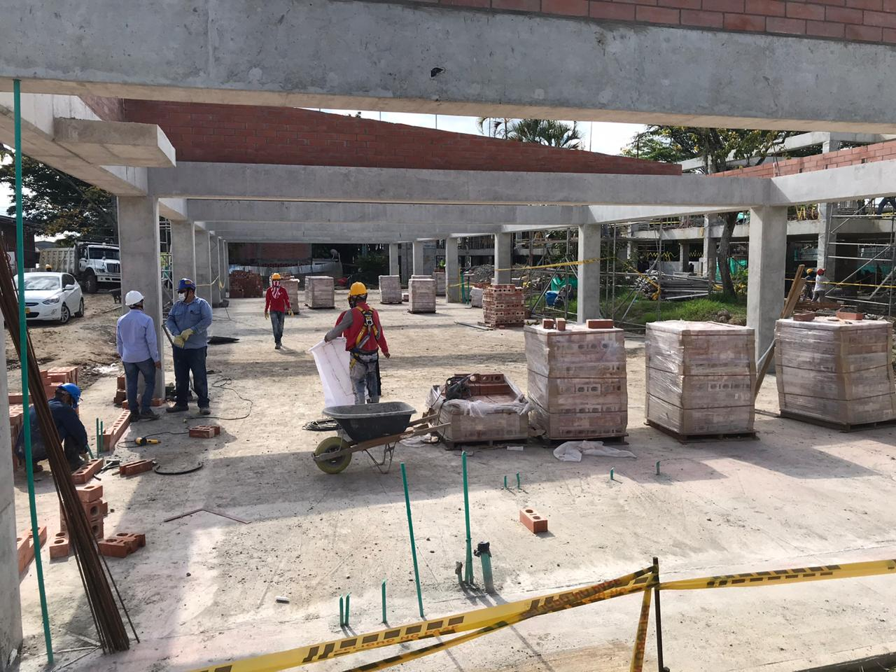 A buen ritmo avanzan obras de infraestructura educativa en Ibagué