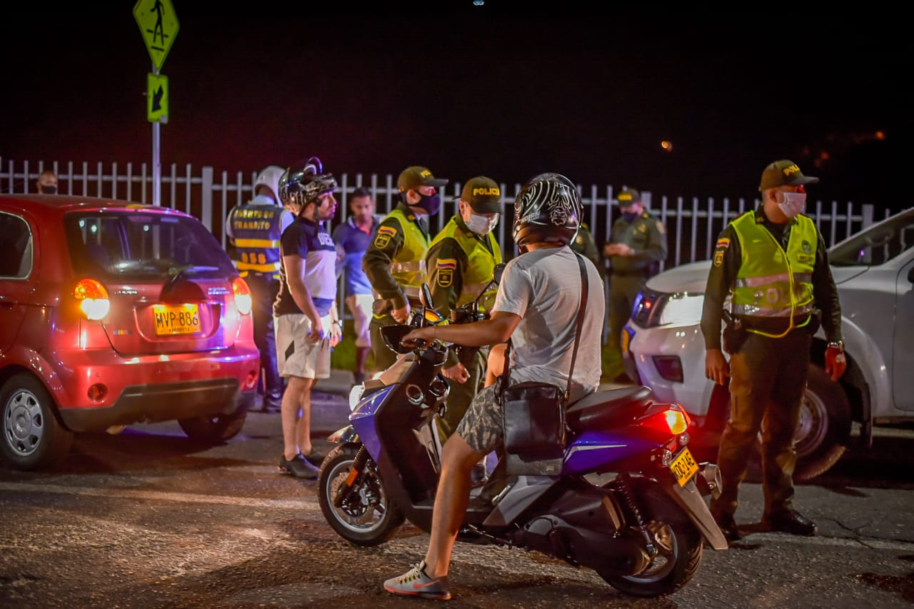 471 ibaguereños fueron sancionados por incumplir medidas durante el puente de fin de semana