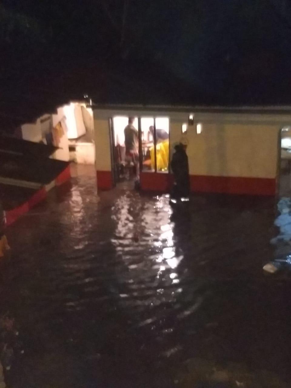 Emergencias, daños y damnificados por fuertes lluvias en el norte del Tolima