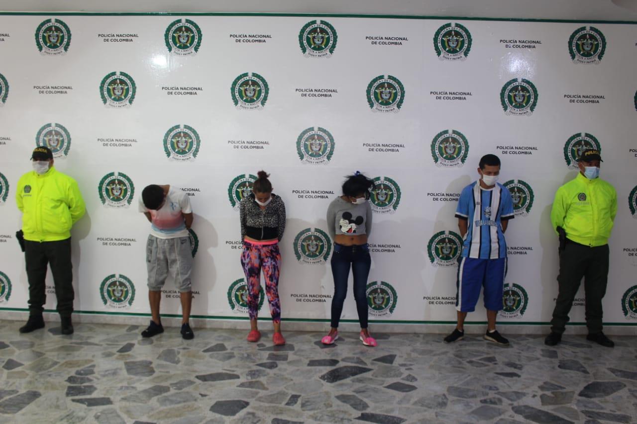 Capturados cuatro integrantes de la banda 'Los Sastoque'