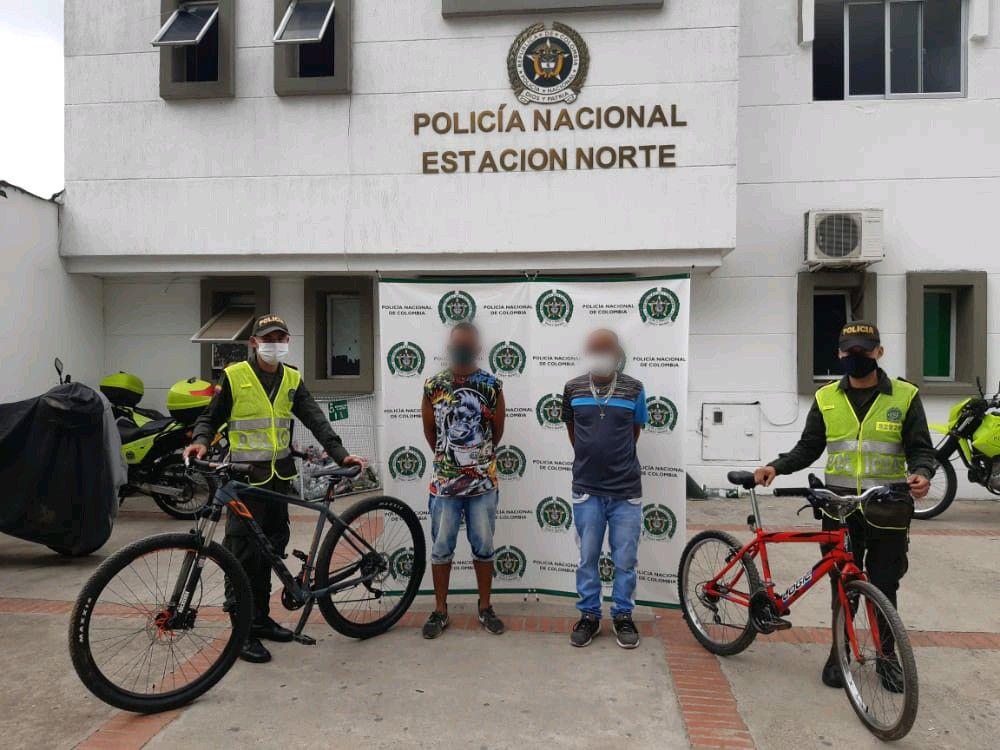 Ofensiva contra el hurto de bicicletas y de locales comerciales en la Comuna Siete
