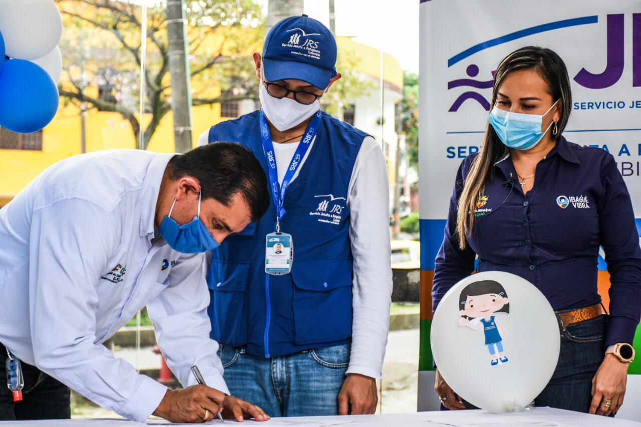 Servicio Jesuita donó $ 35 millones a la Unidad de Salud de Ibagué