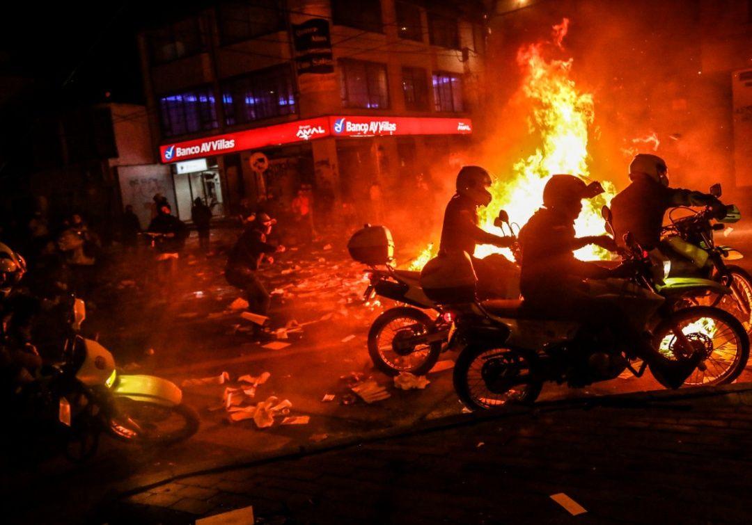 Subió a 10 el número de muertos en las protestas de Bogotá y Soacha