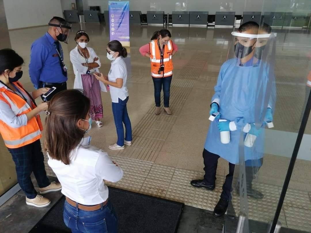 Aeropuerto Perales reiniciaría operaciones a finales de este mes