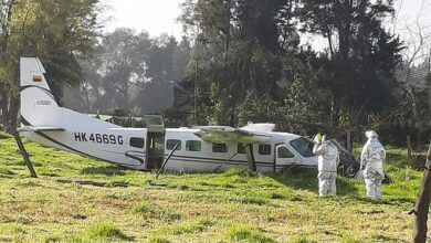 Photo of De milagro sobrevivieron cuatro ocupantes de avioneta que cayó en la Sabana de Bogotá