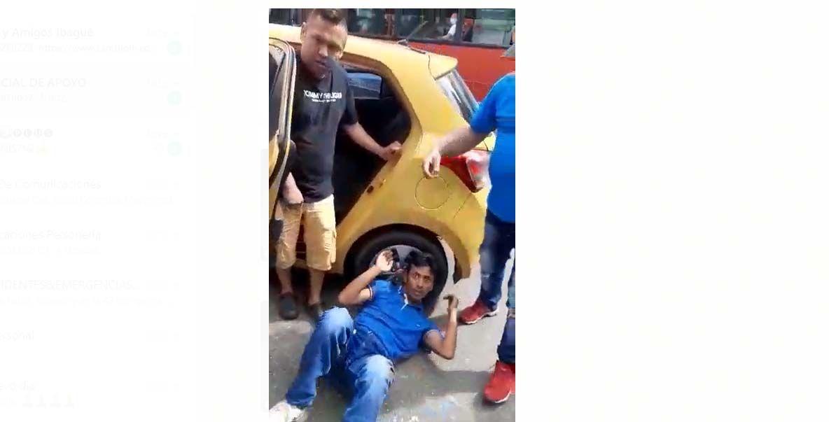 #EnVideo: Casi linchan al 'caco' en la Quinta con 42