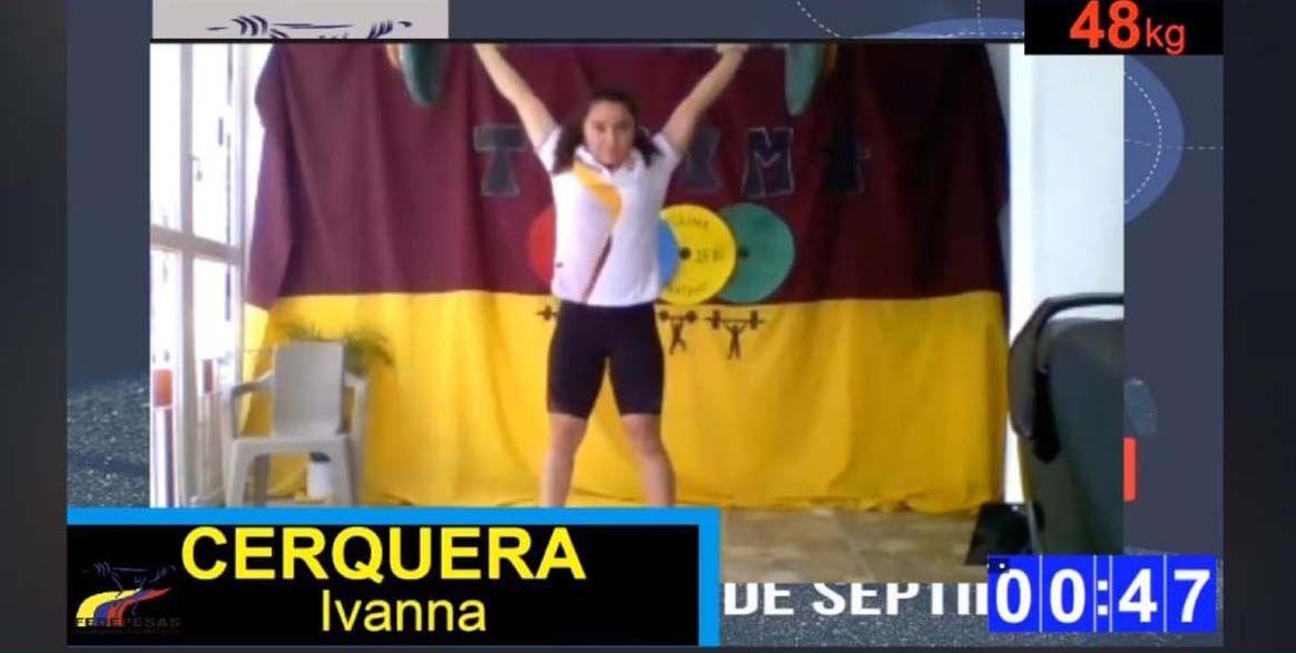 Tres de oro para Tolima en 'torneo virtual' de levantamiento de pesas