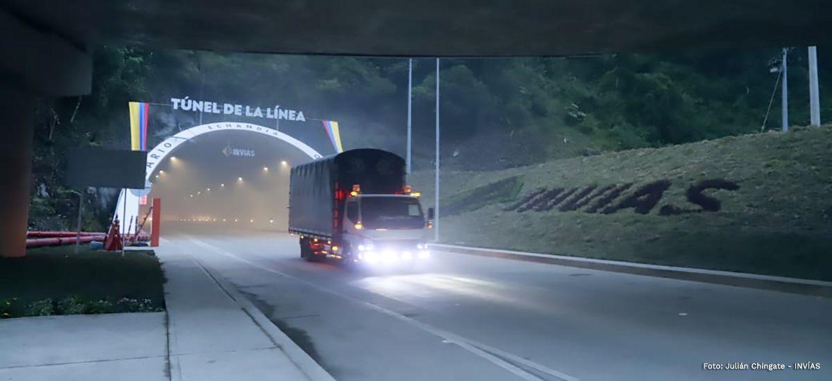 20.584 vehículos cruzaron el Túnel de La Línea durante el fin de semana