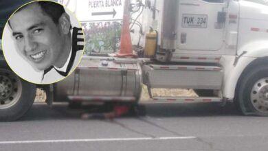 Photo of De Icononzo son el muerto y el herido, arrollados por el tracto camión en la variante de Chicoral