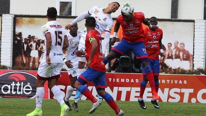 Deportes Tolima visita al Pasto este domingo: Por el liderato del campeonato