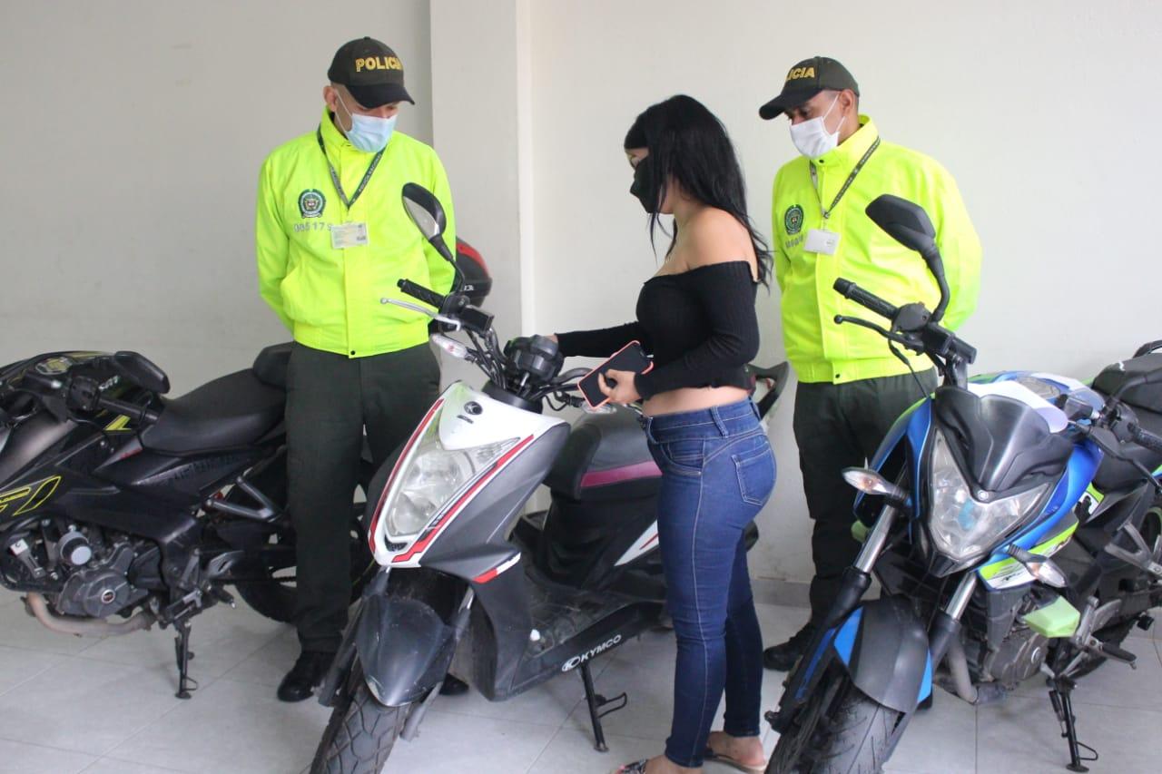 Policía de Ibagué ha recuperado este año 46 autos y motos robadas