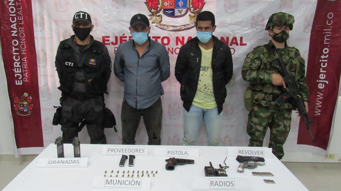 Cayó alias 'Reneco', cabecilla principal de la Comisión Ismael Ruiz