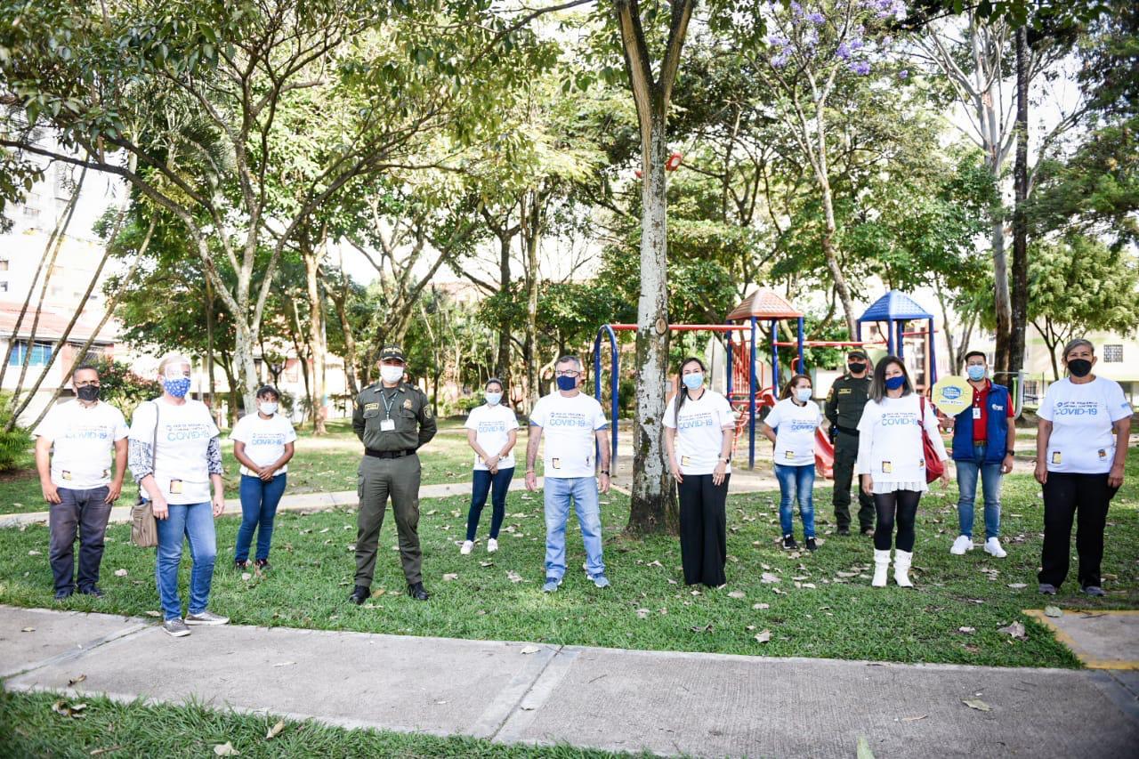 Líderes de la comuna Cinco se sumaron a la Red de Vigilancia contra el Covid-19