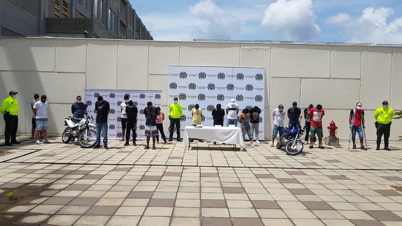 Revocada libertad a 19 presuntos integrantes de la organización delincuencial Los Tijeras