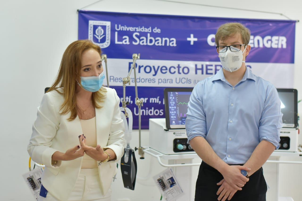 Alcaldía recibió donación de ventiladores mecánicos para atención de pacientes con Covid-19