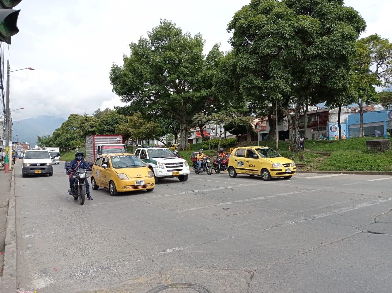 Normalidad y soledad en las calles durante el 'Día sin carros y sin motos' en Ibagué