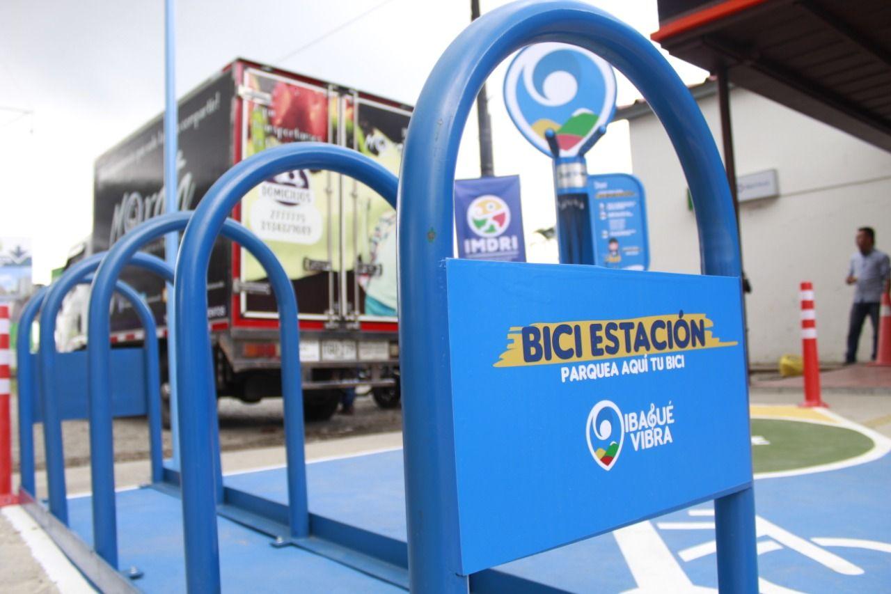 Instalaron la primera 'BiciEstación' en Ibagué