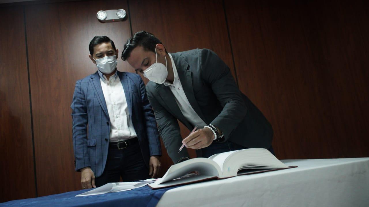 Alcalde posesionó a Didier Blanco como nuevo gerente de la Gestora Urbana