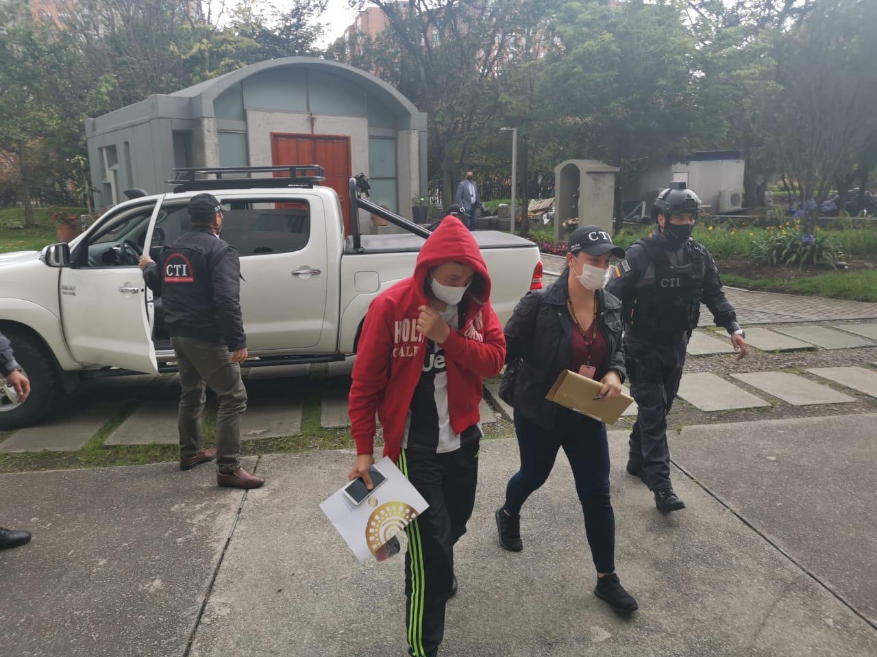Fiscalía ya capturó a los dos patrulleros acusados del asesinato del estudiante de derecho