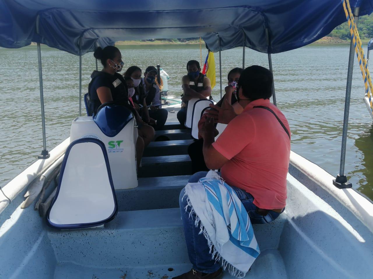 Servidores fluviales de Prado se preparan para reactivar el turismo en lancha