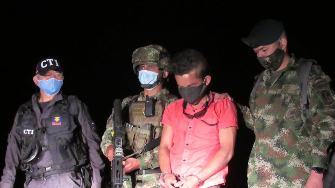Cayó 'Cachiporra', explosivista que sembraba el terror en el sur del Tolima
