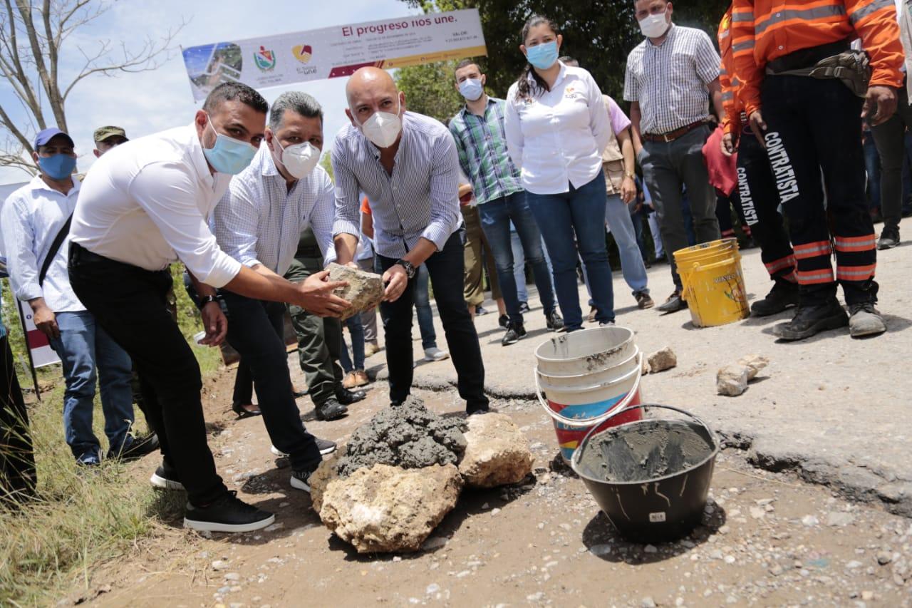Aseguran la segunda fase de pavimentación de la vía Ibagué - Rovira