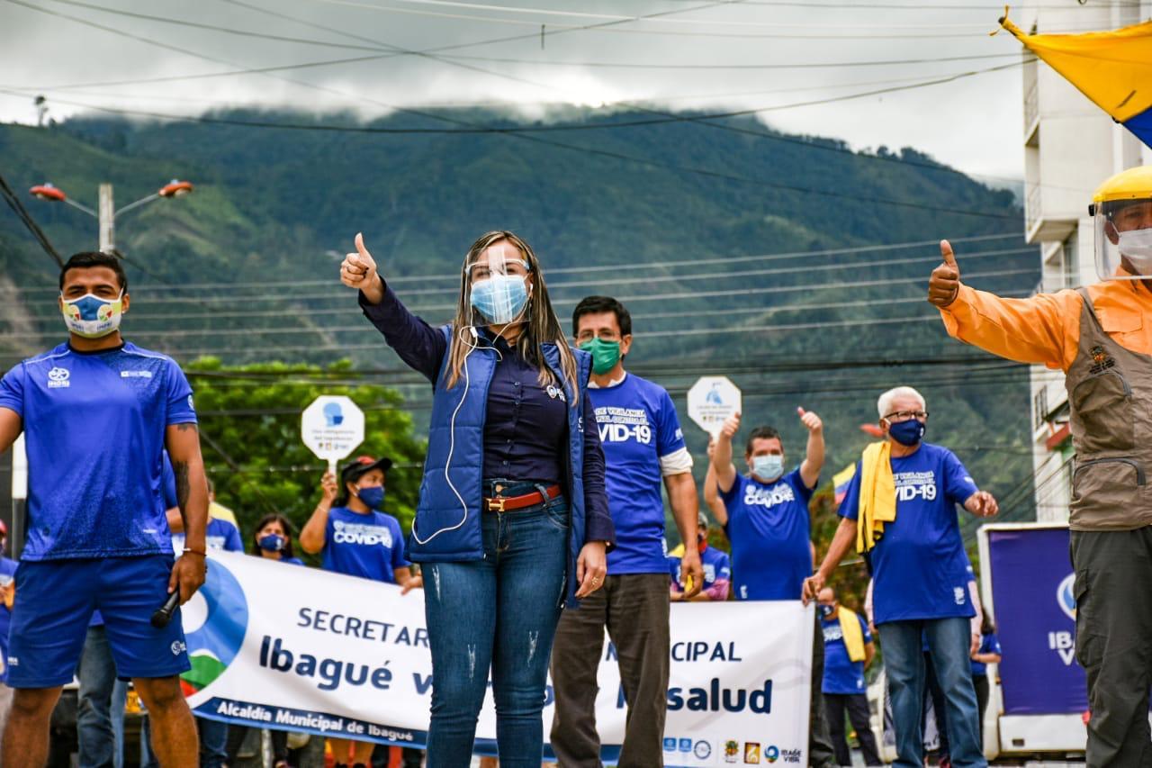 Inician jornadas de limpieza y desinfección en barrios de Ibagué