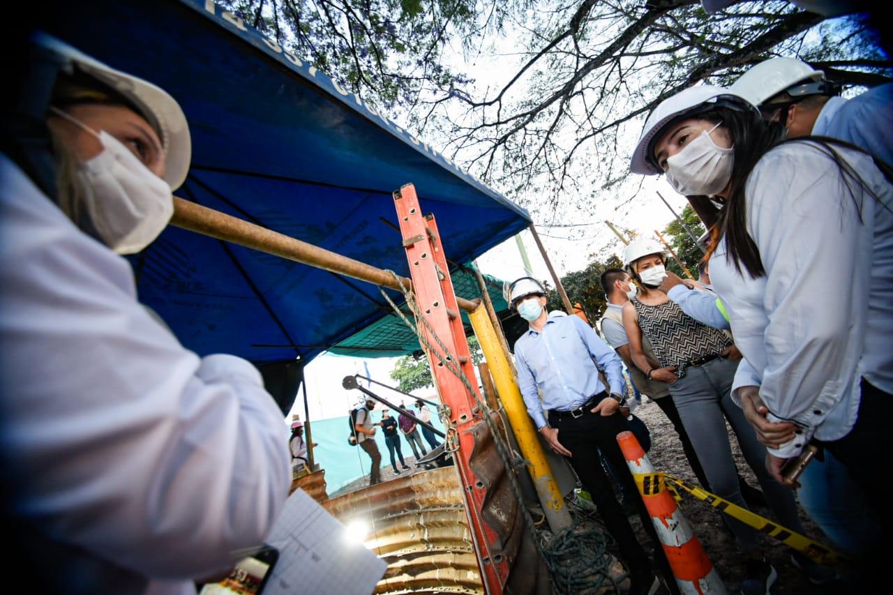 En un 80 % de ejecución avanzan obras del colector Las Quintas