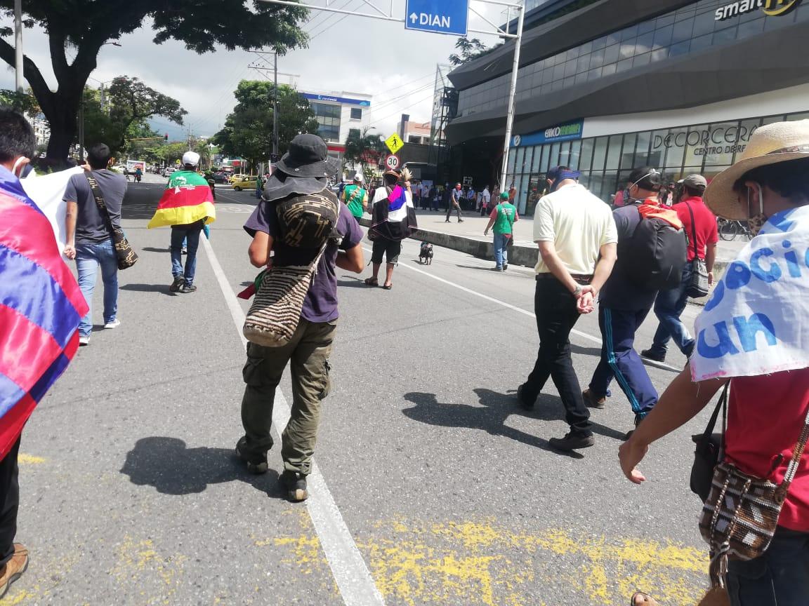 Atentos: Este lunes las marchas se tomarán varias vías de Ibagué