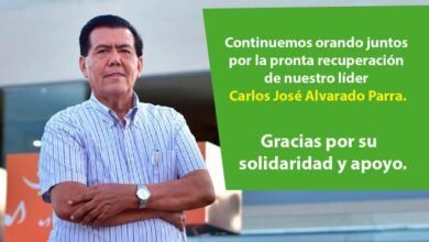 Photo of Continúan las cadenas de oración por la salud y recuperación de Carlos Alvarado