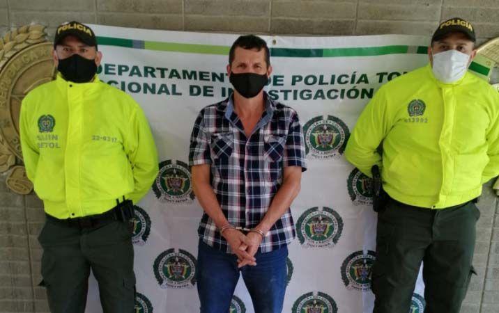 Cárcel para 'Carroloco', uno del cartel de 'Los Más Buscados en el Tolima'