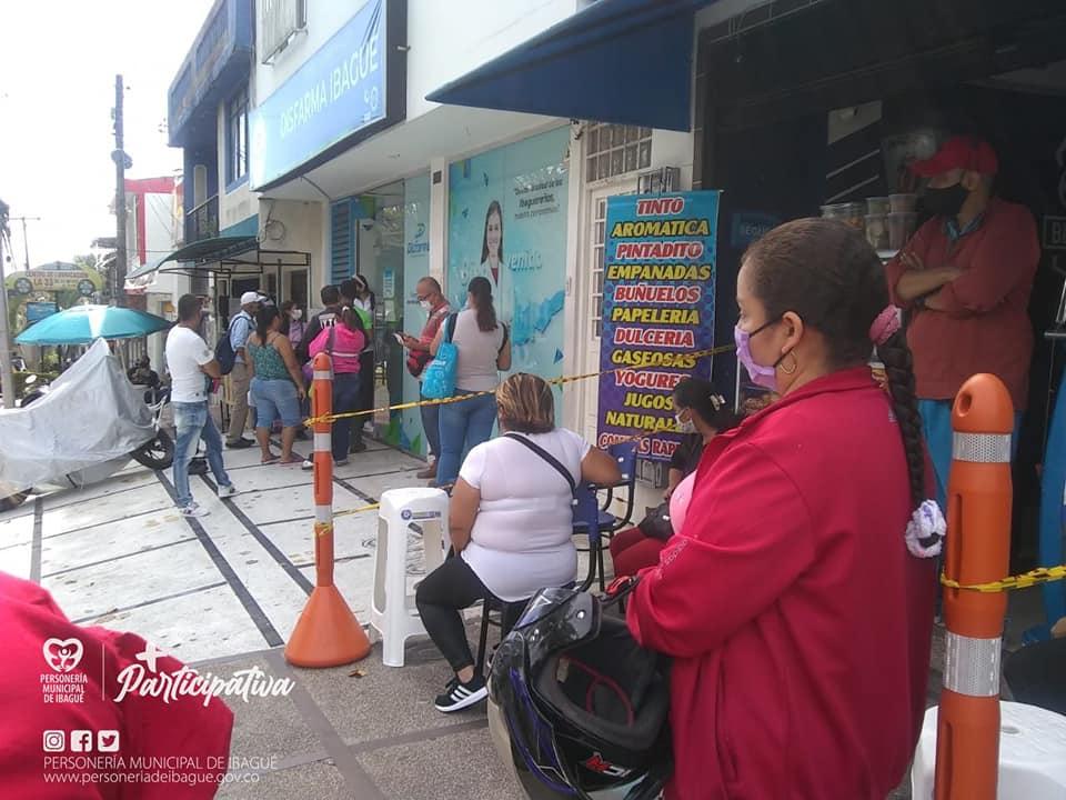 Personería realizó visita de inspección a centro de entrega de medicamentos