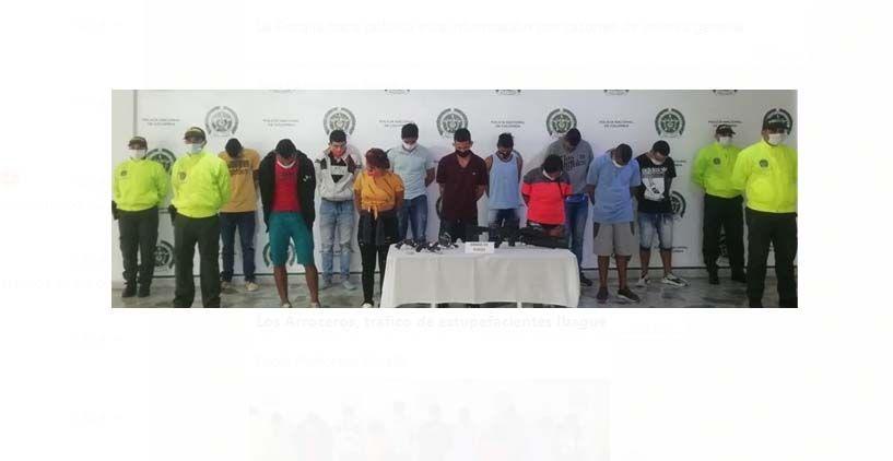 Estos son los integrantes de la banda que azotaba la Comuna Ocho de Ibagué