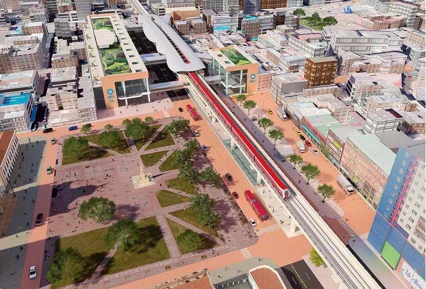 Este martes inicia la construcción del metro en Bogotá