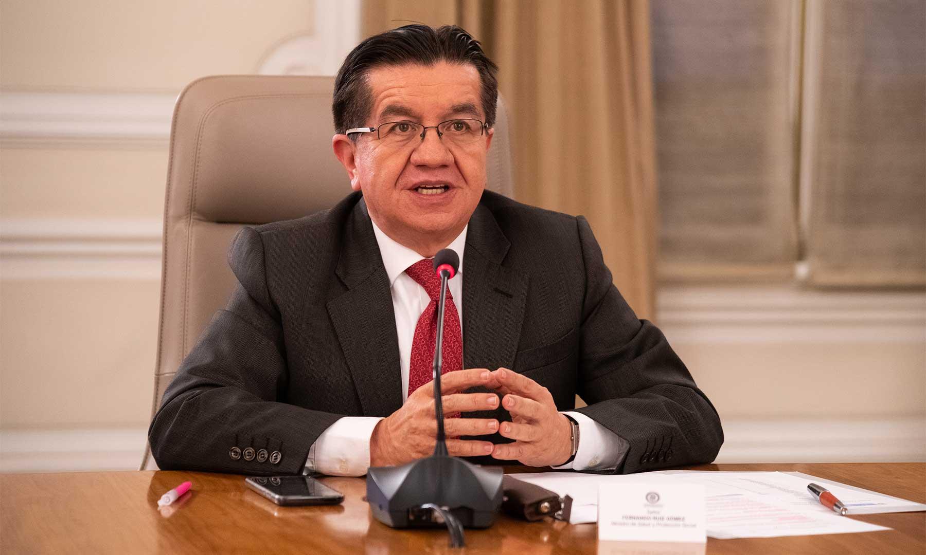 Colombia tiene asegurados 20 millones de dosis contra el Covid