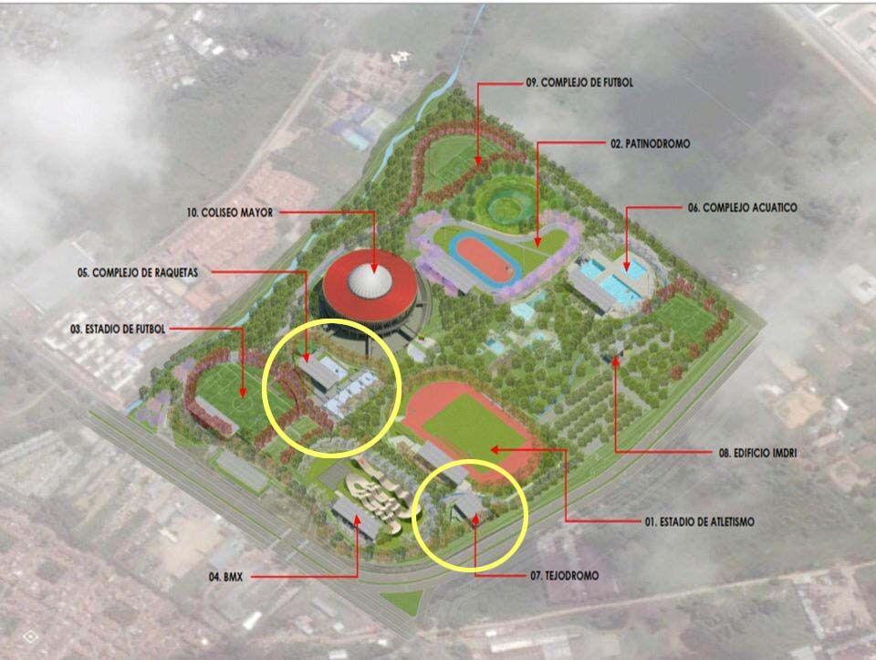 Vía libre a la construcción del tejódromo y el complejo de raquetas en el Parque Deportivo