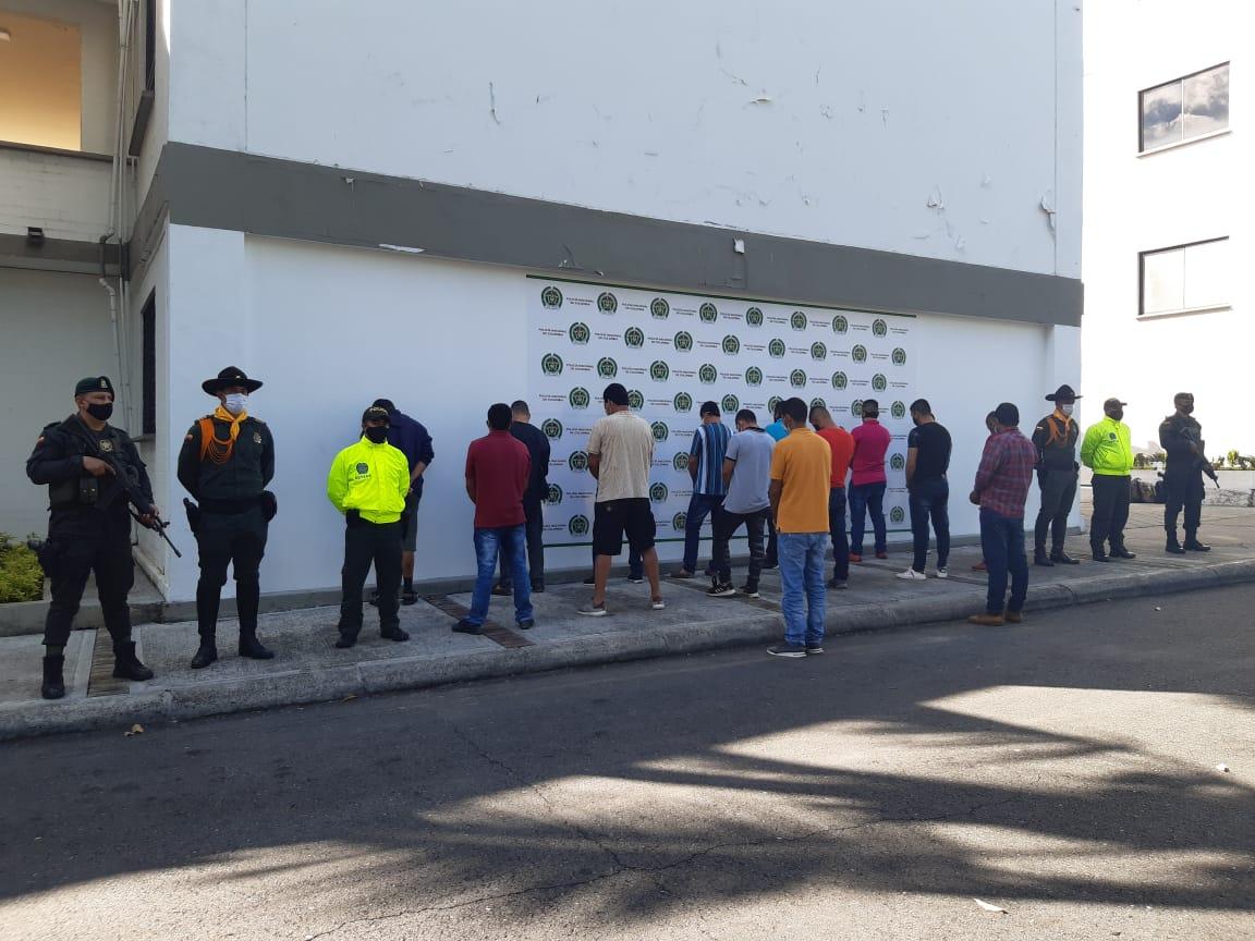 Judicializan a 'Los Argos' por robo de hidrocarburos en el Tolima