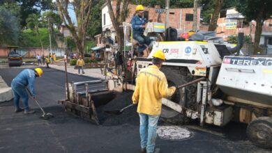 Photo of Culminan pavimentación en calles del barrio San Luis de Ibagué