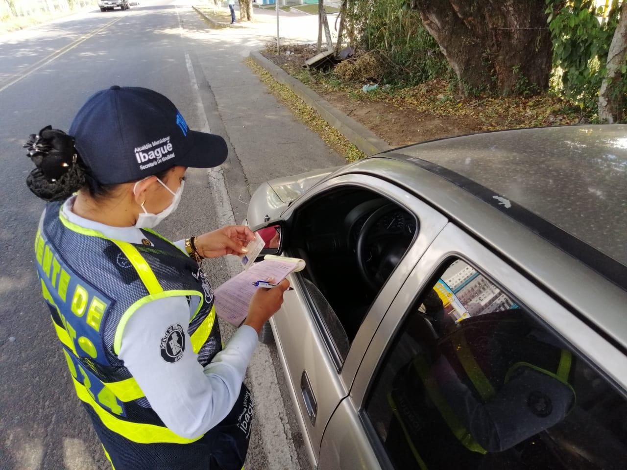Más de 230 vehículos se han inmovilizado por transporte ilegal en Ibagué