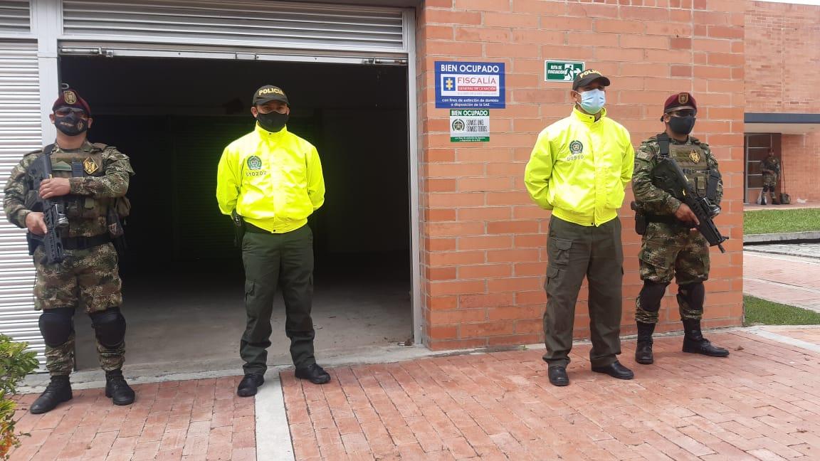 #Fotos   Golpe a 'Los Tamaleros', banda de narcotraficantes de Ibagué que enviaban droga a España