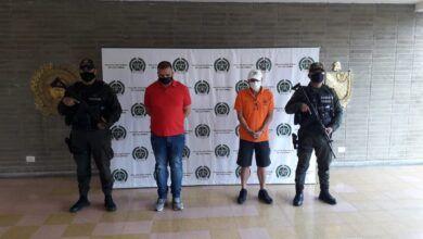 Photo of Asegurados un policía y un pensionado de magisterio por extorsión a alcaldesa de Falan