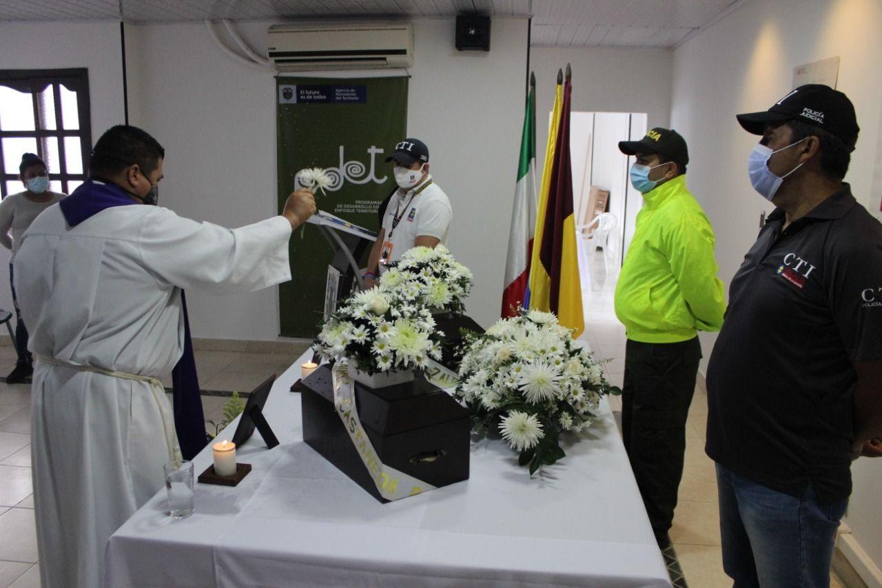 Entregan en Planadas restos de víctimas del conflicto armado