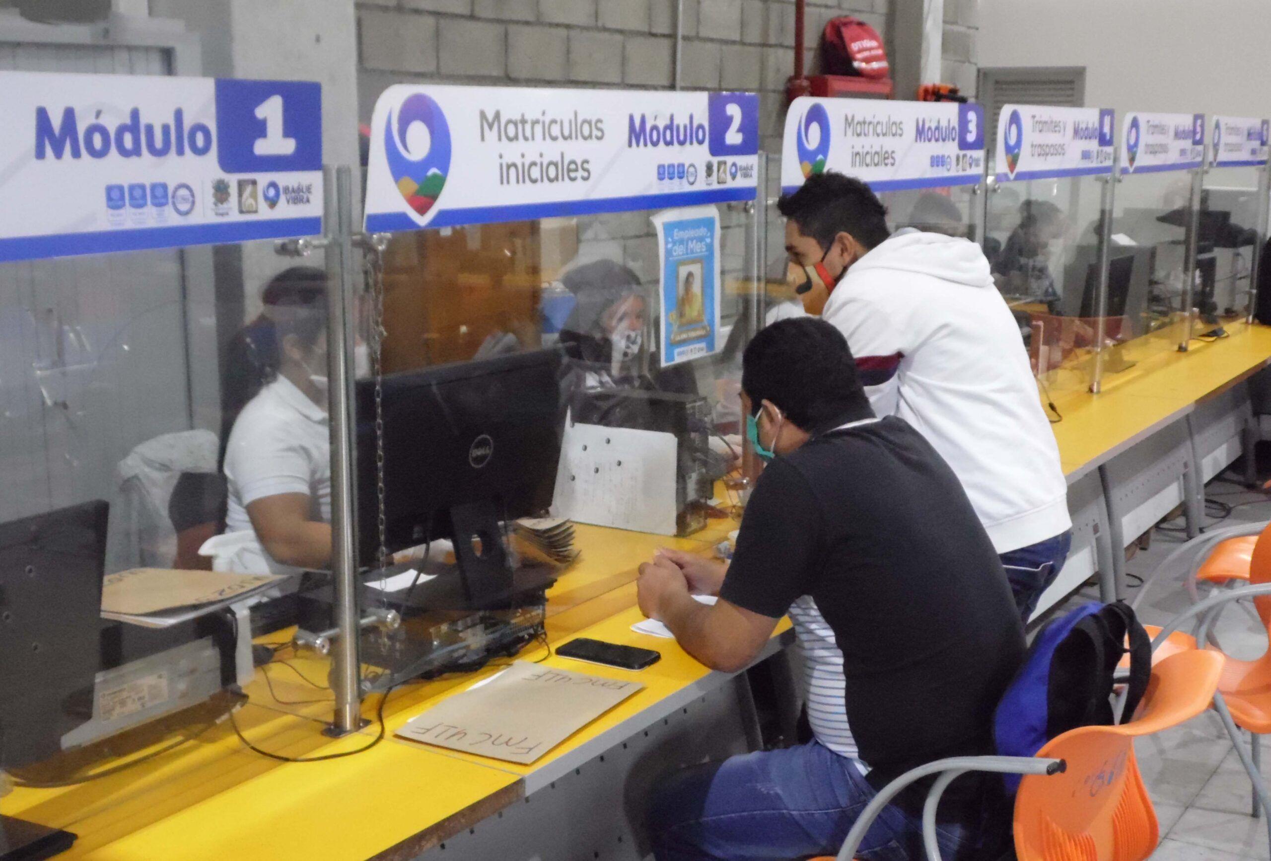 Más de 11.000 ibaguereños realizaron sus trámites de movilidad en octubre