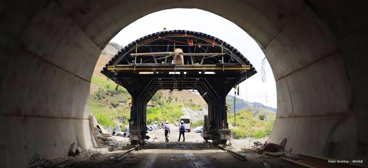 Fotos: En 78% han avanzado las obras de la doble calzada Cajamarca - Calarcá