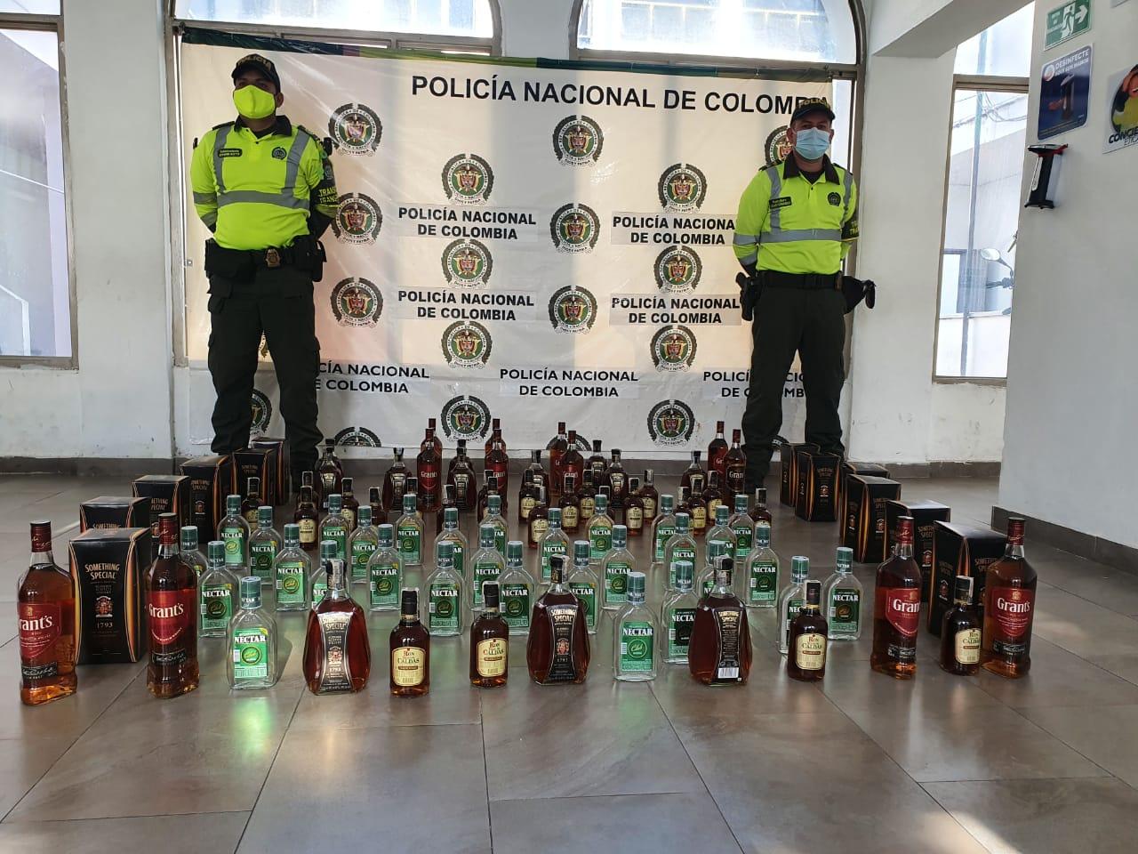 Policía del Tolima se incautó de licor ilegal en Melgar y Guamo